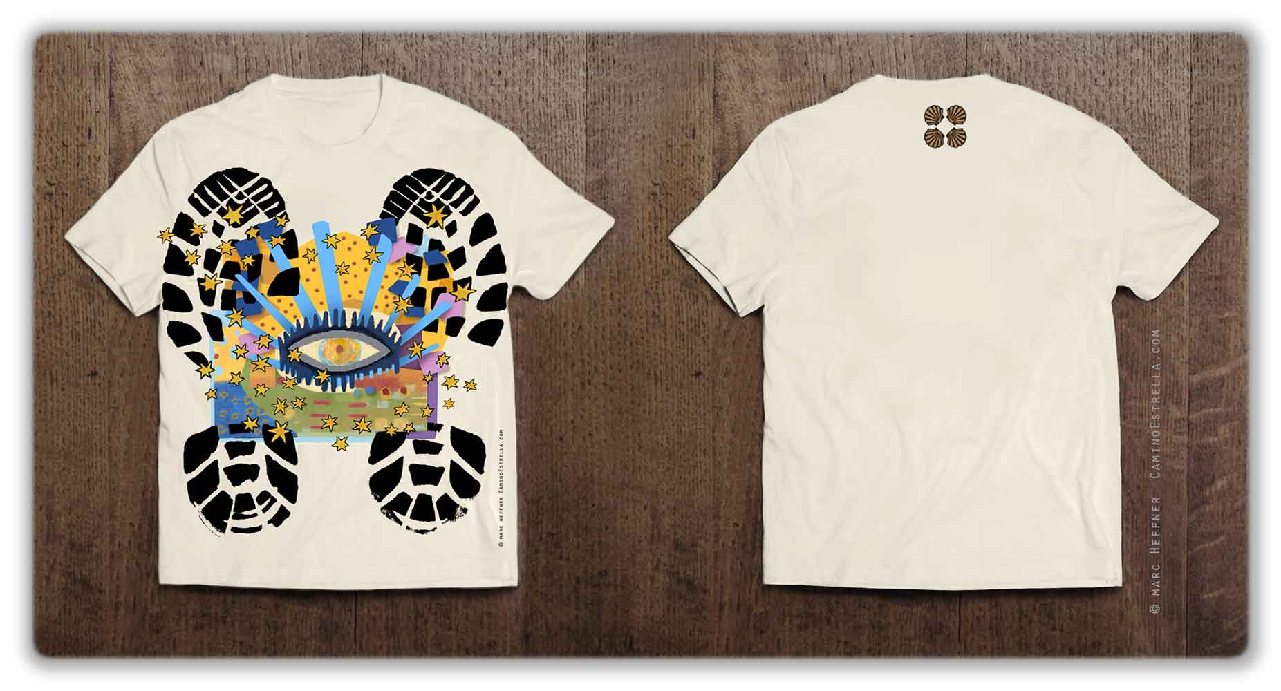 camino_de_santiago_T_Shirt
