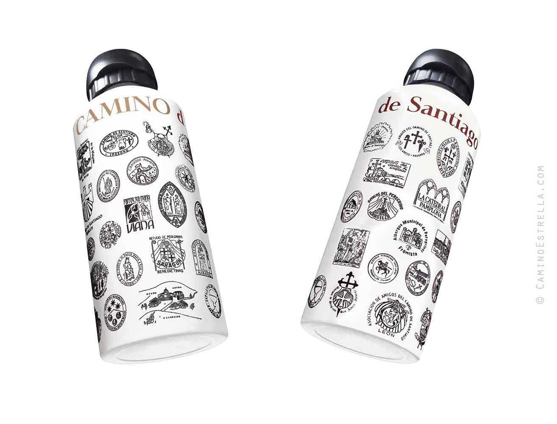 El Camino de Santiago bottle
