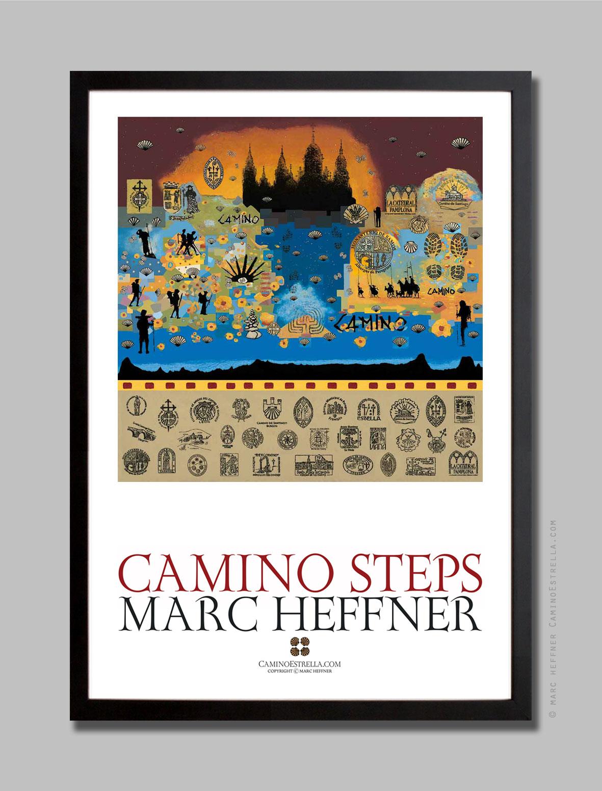 El Camino de Santiago Compostela pilgrimage