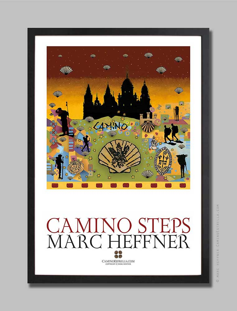 Camino_steps_7_poster_marcheffner
