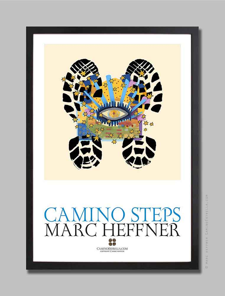 Camino_steps_9_poster_marcheffner